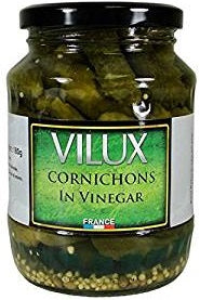 VILUX CORNICHONS IN VINEGAR JAR 6.34 OZ