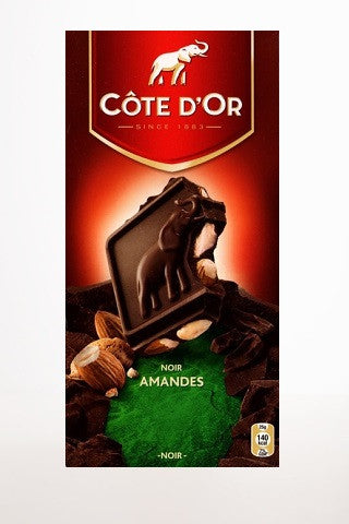 Cote D'Or Dark Noir Amandes (Dark w/Almonds)