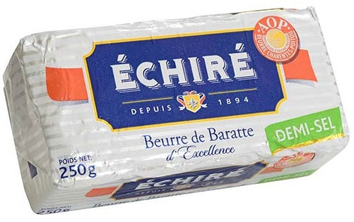 Beurre Echire AOC (slightly) Salted French Butter