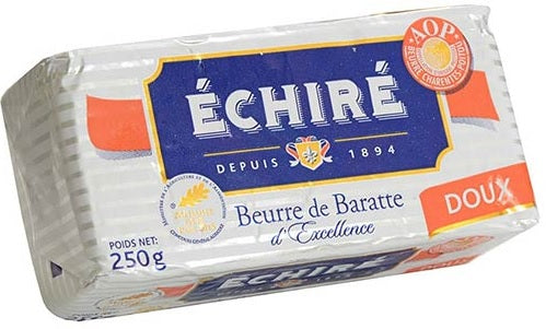 Beurre Echire AOC Unsalted French Butter