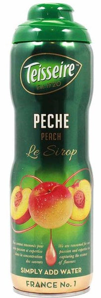 TEISSEIRE PEACH SYRUP FOR DRINKS 600 ML