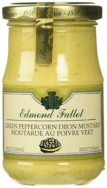 FALLOT GREEN PEPPERCORN MUSTARD 7 OZ