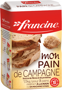 FRANCINE FLOUR FOR COUNTRY BREAD 1.5 KG