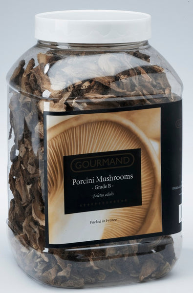 "DRIED PORCINI MUSHROOMS GRADE A ""PREMIUM"" 1 LB"
