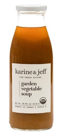 K ET J GARDEN VEGETABLE SOUP 16.9 OZ