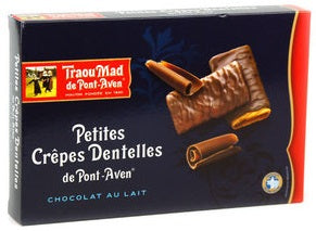 TRAOU MAD CREPE DENTELLES W/CHOCOLATE 100 GR