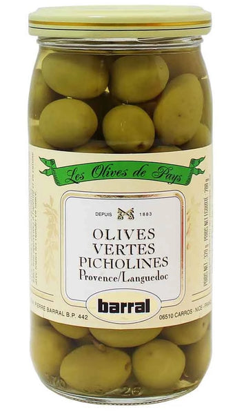 BARRAL GREEN PICHOLINES 6.5 OZ