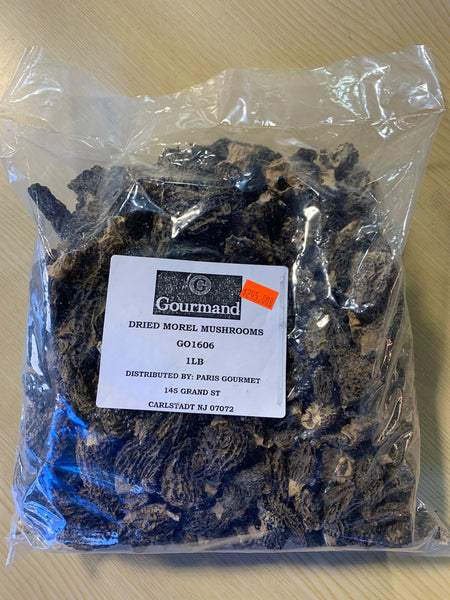 DRIED IMPORTED MORELS 1 LB