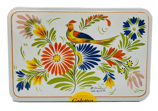 MP GALETTES QUIMPER FLOWER TIN