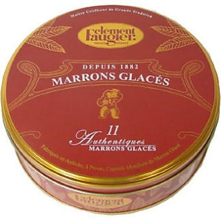 Clement Faugier Candied Chestnuts (Marrons Glacés) 7oz