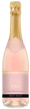 Jacques Pelvas Sparkling Rose from Provence NV