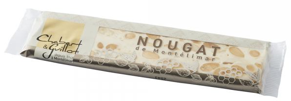 CHABERT & GUILLOT WHITE NOUGAT LONG BAR 100 GR
