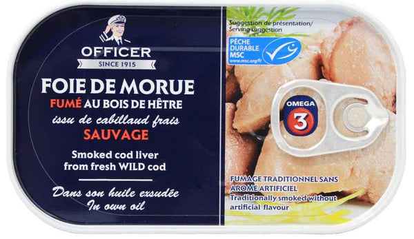 OFFICER - SMOKED COD LIVER