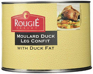 "Confit of Duck Legs ""4 pack"" with Duck Fat Tin - Rougie"