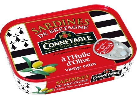 CONNETABLE SARDINES BRITTANY 135 GR