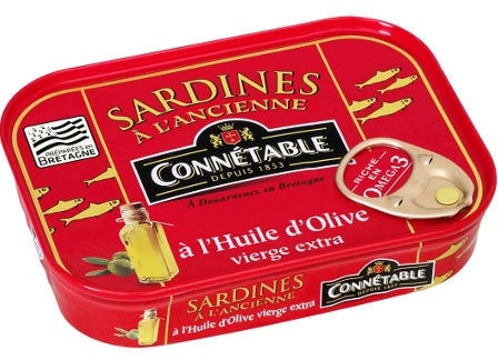 CONNETABLE SARDINES IN EVOO 115 GR