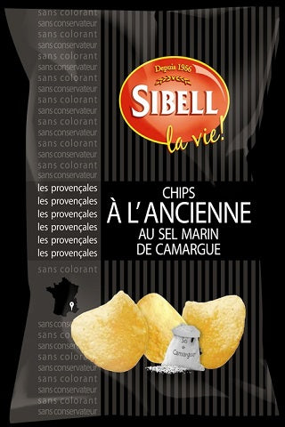 SIBELL CHIPS CAMARGUE SEA SALT