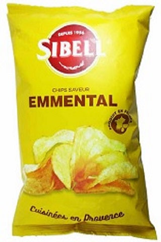 SIBELL POTATO CHIPS W/EMMENTAL - 113020
