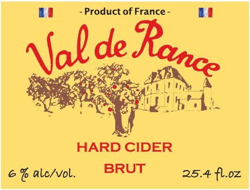Val de Rance Hard Cider Brut 750 ml