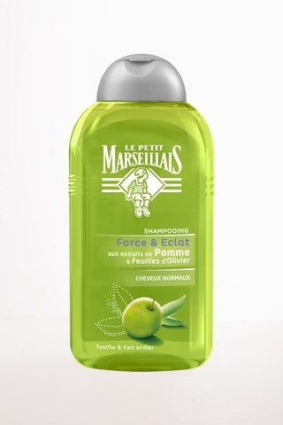 Bath & Beauty - Shampoo Apple Extract And Olive Leaf Le Petit Marseillais 250ml