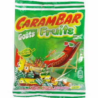 Carambar Fruits Candy in Bag 130g (4oz)