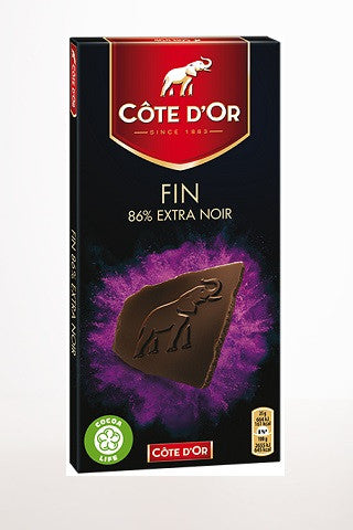 Cote D'Or Fin 86% Extra Noir