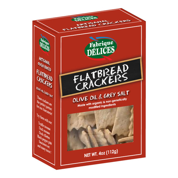 FLATBREAD CRACKERS 12/4OZ - 1130281