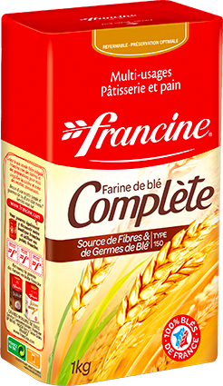 FRANCINE WHOLE WHEAT 1KG BOX