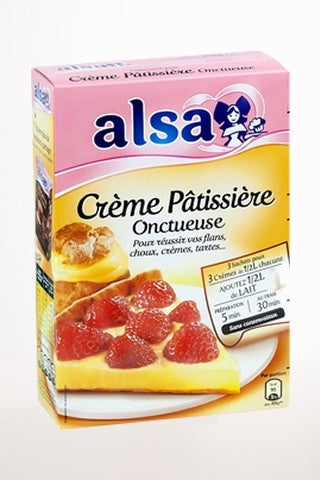 Gourmet Food - Alsa Creme Pâtissière - French Custard Mix