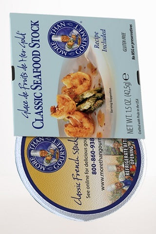 Gourmet Food - Classic French Seafood Stock & Shrimp Stock 1.5oz