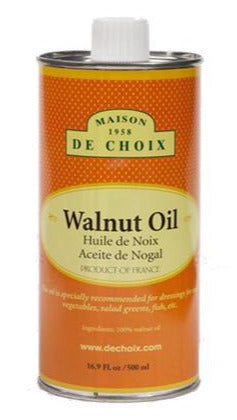 Gourmet Food - French Walnut Oil From Maison De Choix  16.9oz