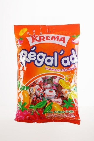 Gourmet Food - Krema Regal'ad Fruit Candy From France 150g