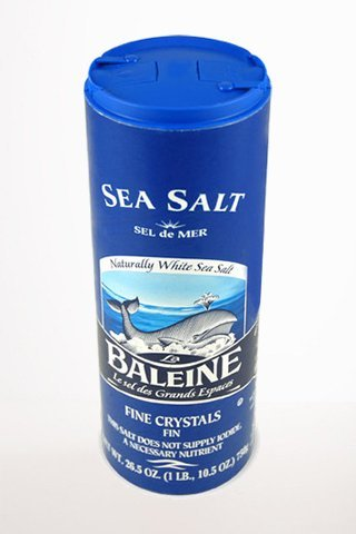 Gourmet Food - La Baleine Fine Sea Salt 750g 26.5 Oz