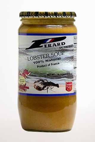 Gourmet Food - Pérard Lobster Soup - Ready To Eat!