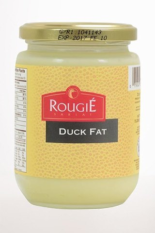 Gourmet Food - Rougié Rendered Duck Fat In Jar 11.2oz