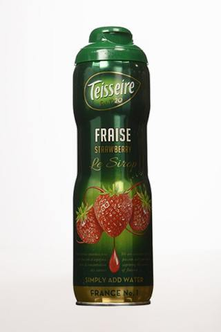 Gourmet Food - Teisseire Fraise Strawberry (Syrup For Drinks)