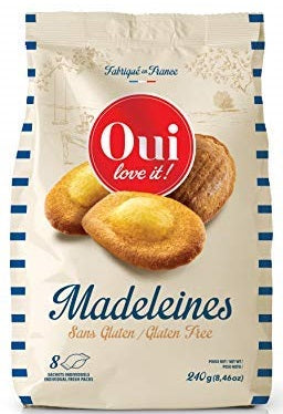 OUI LOVE IT! MADELEINES 240 GR