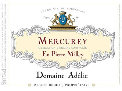 "2018 Mercurey ""En Pierre Milley"" Albert Bichot"