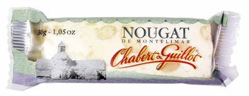 CHABERT & GUILLOT WHITE NOUGAT BAR SMALL 30 GR