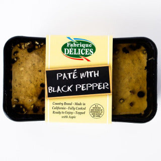 COUNTRY PATE W/BLACKPEPPER 7 OZ  - FABRIQUE DELICES
