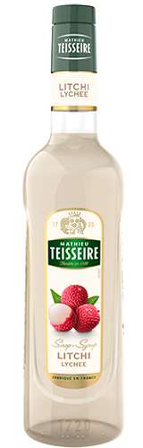 TEISSEIRE LYCHEE SYRUP FOR DRINKS 70 CL
