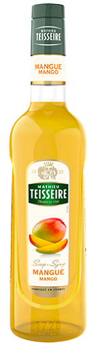 TEISSEIRE MANGO SYRUP FOR DRINKS 70 CL