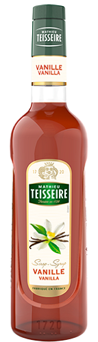 TEISSEIRE VANILLA SYRUP FOR DRINKS 70 CL