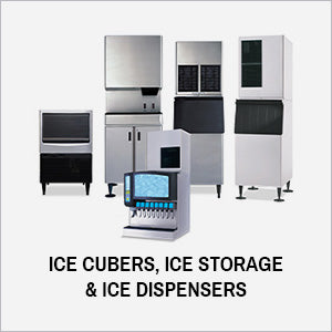 Ice Cubers, Ice Storage & Ice Dispensers