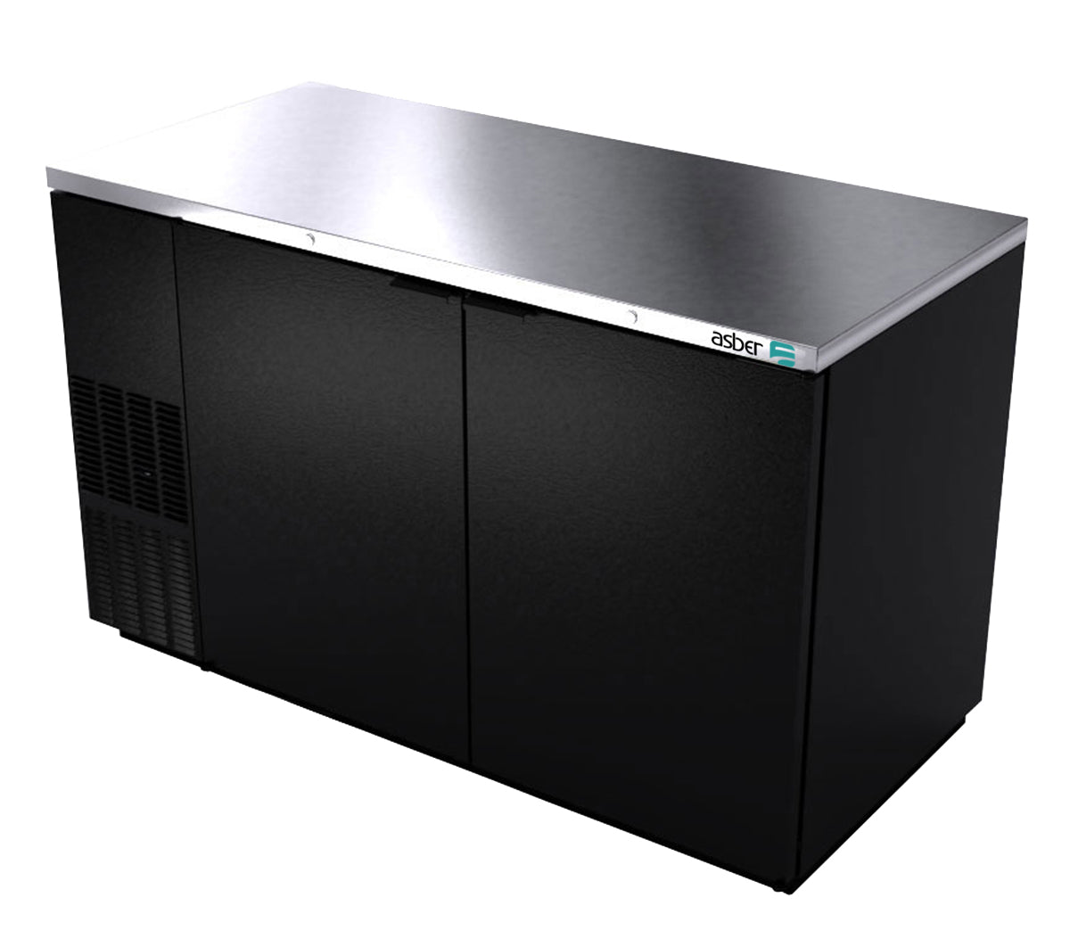 "Asber 58"" Bar Back Cooler"