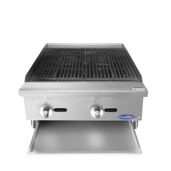 "Atosa Heavy Duty 24"" Countertop Radiant Broiler"