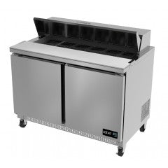 Asber 2 Door Salad Table, 60""