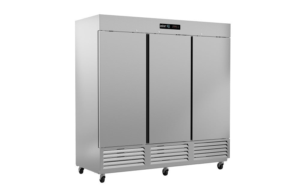 Asber 3 Door Cooler, 72 cu.ft.