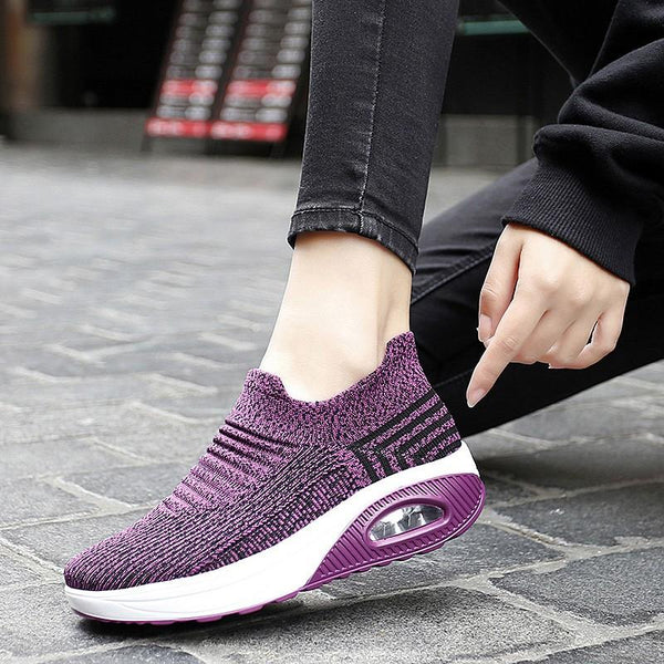 Women's Elastic Stretchable Lightweight Breathable Walking Shoes ( HOT SALE !!!-60% OFF For a Limited Time )