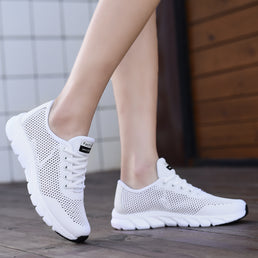 Women's Flat Lightweight Breathable non-slip Shoes